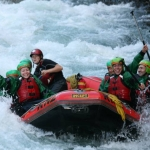 White Water Rafting on the Tongariro river