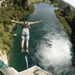 Bungy above Waikato River