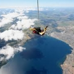 Skydive over Taupo